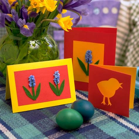 easter card ideas for children to make easter card crafts for craftshady craftshady