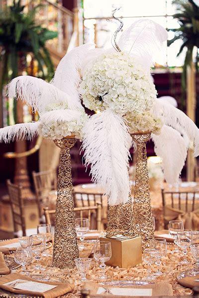 black  gold great gatsby inspired wedding ideas