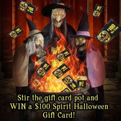 Spirit Halloween Gift Card - instantly win 100 spirit halloween gift card