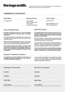 Ownership Agreement Template logo design copyright transfer form template for download