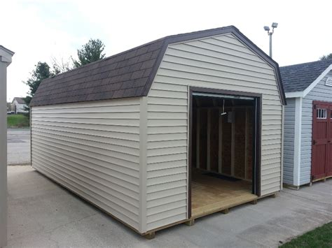 Shed Rent by Vinyl High Barn Portable Storage Shed For Sale Rent To
