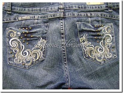 decorar bolsillos de jeans como decorar los bolsillos de un pantalon manualidades