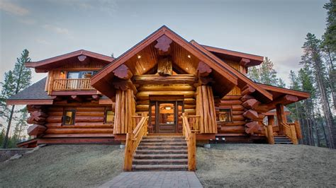 modern style small log home 171 real log style log homes with exterior wildfire mitigation for your log