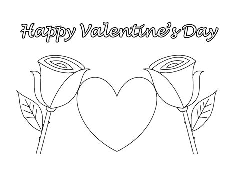 free coloring pages of mom valentines