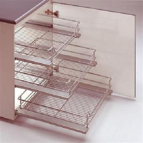 wire baskets for kitchen cabinets 14 best pull out storage units images on pinterest