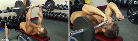 Skull Crushers On Floor by How To Do Skullcrushers Triceps Exercise Doctor Fitman