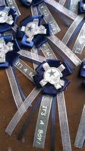 Dallas Cowboys Favors by Dallas Cowboys Baby Shower Corsages By Lcdecorations On Etsy