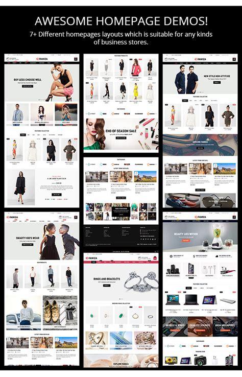 shopify themes documentation famiza clean modern sectioned shopify theme shopify