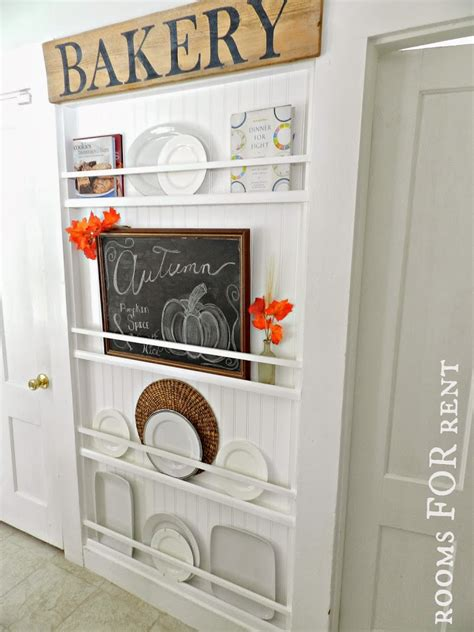 Diy Plate Rack by Diy Small Space Furniture Small Home Design