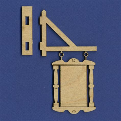 doll house parts dollhouse hanging sign a dollhouse parts