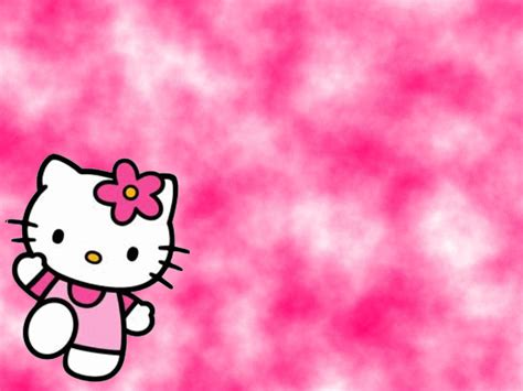 wallpaper hello kitty pink black black and pink hello kitty wallpaper wallpapersafari