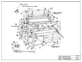 Floor Loom Plans Small Weaving Loom Building Plans Submited Images
