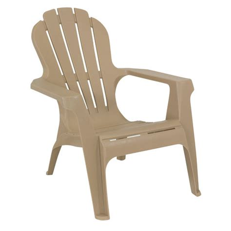Resin Adirondack Chairs Walmart by Mainstays Adirondack Chair Dune Patio Furniture