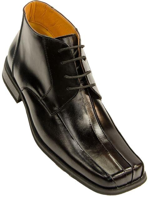 square toe dress boots for mens zota mens black leather lace up square toe ankle dress