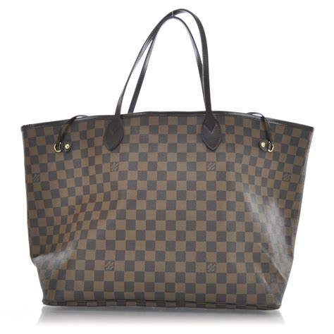 Neverfull Damiere louis vuitton damier ebene neverfull gm 30701