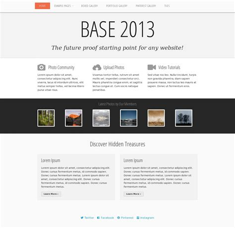 free html5 responsive templates 2013 28 images