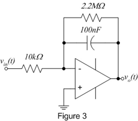 rc integrator circuit using operational lifier ee 212 lab 9
