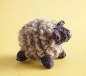 free crochet pattern 80093ad little lamb lion brand yarn fluffy little sheep pattern knit lion brand yarn wool
