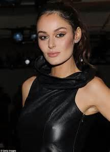 nicole trunfio dons leather dress at dion lee s new york