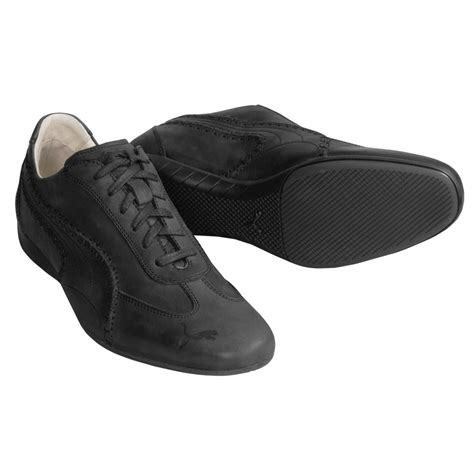 Cat Time Black Leather black label speedcat re luxe shoes for 1227g