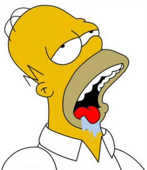 Drooling Meme - homer drool watch your mouth pinterest