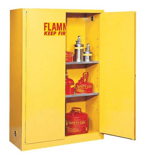 Flammable Storage Cabinet Flammable Storage Cabinet Self Closing Doors 90 Gallon From Cole Parmer