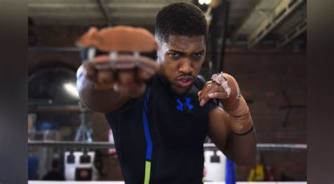 anthony joshuas  ig workout  training   fight muscle fitness