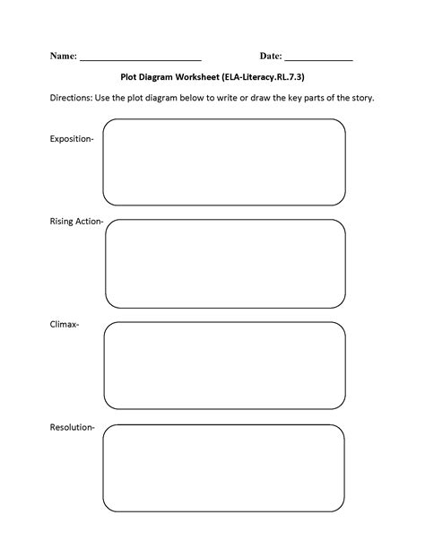 story themes worksheets plot chart worksheet worksheets for all download and