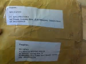 impresi pengiriman paket via pt pos indonesia hourex150l