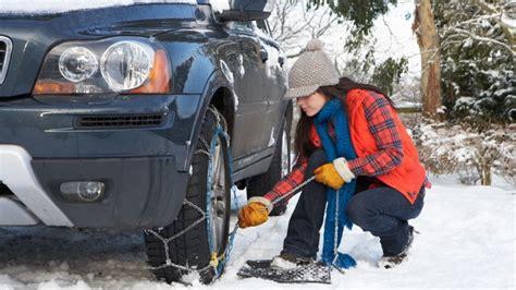 como poner unas cadenas de nieve como poner las cadenas al coche