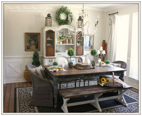 french farmhouse dining room reveal dining room wall