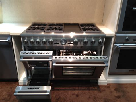 warming drawer on oven the architectural digest show part 2 kieffer s appliances