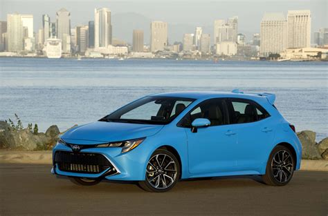 toyota hatchback 2019 toyota corolla hatchback reboots for 20 910 starting