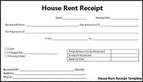 rent receipt template word 2003 money receipt template word kinoroom club