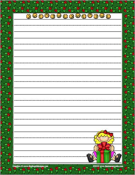 present writing paper themed writing papers