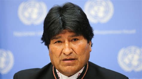 evo morales bolivia president undergoes paternity test in scandal