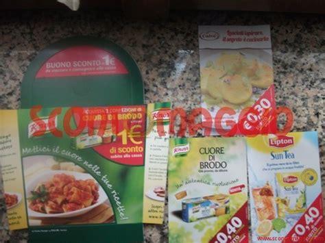 buoni sconto alimenti coupon sconto prodotti alimentari knorr calv 232 lipton