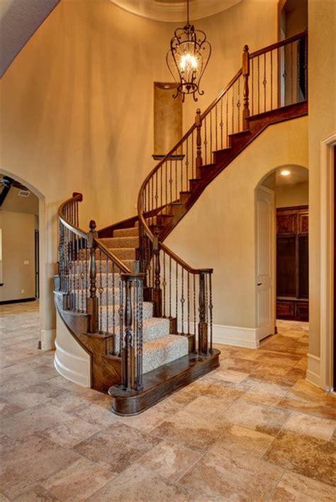 bailee custom homes rustic exterior dallas by q bailee custom homes traditional staircase dallas