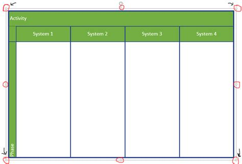 visio activity diagram layout visio uml activity diagram equally space