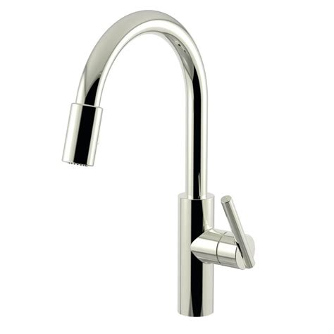 newport brass kitchen faucets faucet 1500 5103 15 in polished nickel by newport brass
