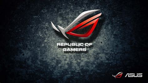 gamers logo wallpaper republic of gamers wallpapers wallpaper cave