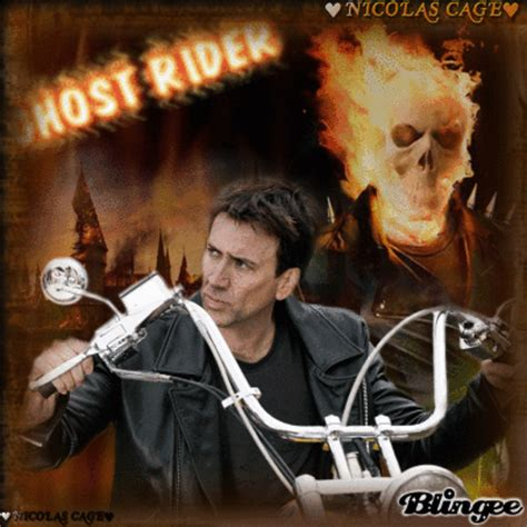 ghost film with nicolas cage nicolas cage ghost rider picture 124905340 blingee com