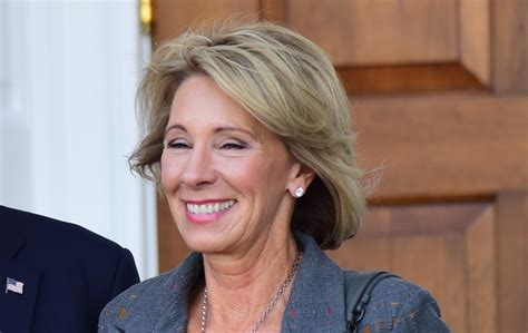 betsy devos job why was betsy devos at a supreme court hearing about the