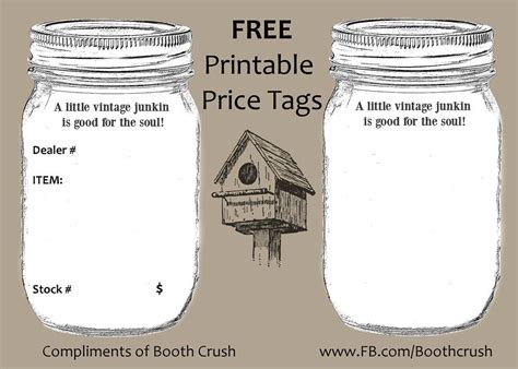 Free Printable Price Tags