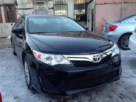 toyota camry le black  sale  miles