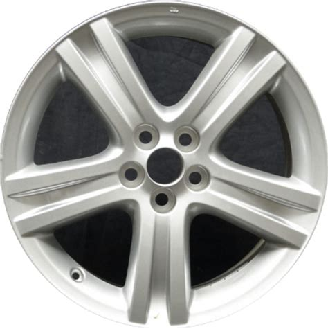 Toyota Matrix Wheel Bolt Pattern Aly69541 Toyota Corolla Matrix Wheel Silver Painted