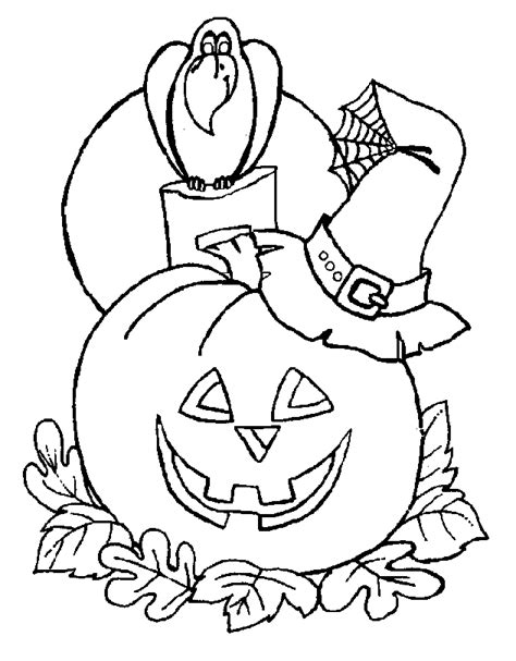 Trick Or Treater Coloring Home Trick Or Treat Coloring Page