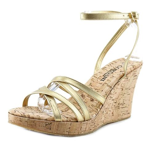 gold wedges sandals cordani whirl gold wedge sandal wedges