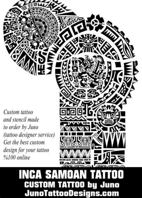 inca tattoo designs meanings polynesian tattoos meaning how to create yours