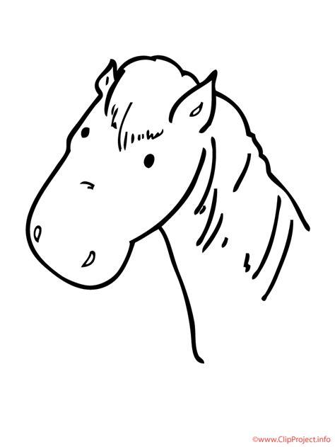 pferd malvorlage